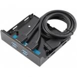 USB-концентратор Orient C090 с двумя портами USB 3.0