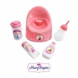 аксессуар для кукол Горшок и предметы ухода Mary Poppins (452016)