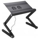 подставка для ноутбука CROWN CMLS-100 черная