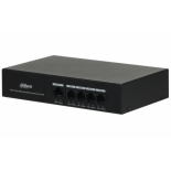 комплект видеонаблюдения коммутатор неуправляемый Dahua DH-PFS3005-4ET-36 (4 + 1, PoE)