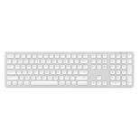 клавиатура Satechi Aluminum (ST-AMBKS-RU) серебристая