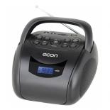 магнитола  Econ EBB-300 черная