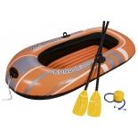 лодка надувная Bestway 61062 Hydro-Force Raft Set (с вёслами и насосом)
