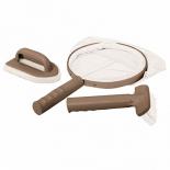щетка для чистки бассейнов Набор для чистки Intex 28004 (сачок, щетка, скребок вотерлинии)