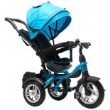 Трехколесный велосипед Farfello TSTX6688-4 небесно-голубой