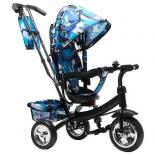 Трехколесный велосипед Farfello TSTX6588, камуфляж синий