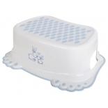 набор аксессуаров для ванной комнаты Tega baby Кролики, антискольз.,подставка, белая