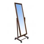 зеркало интерьерное напольное Leset Мэмфис, орех