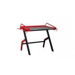 стол компьютерный TetChair Cyber-3, черно-красный