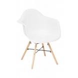 кресло садовое Secret De Maison CINDY (EAMES) (mod. 919), дерево береза/металл/сиденье пластик