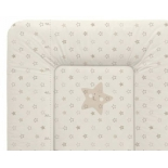 пеленальный матрас Ceba Baby 70х75 см Stars  beige