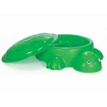Песочница бассейн Pilsan Черепаха с крышкой (06-097), купить за 3 775руб.
