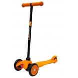Трехколесный самокат Y-SCOO mini A-5 Simple оранжевый с цветными колесами, купить за 1 475руб.
