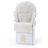 Конверт для новорожденного Esspero Queenly - Белый, купить за 17 900руб.