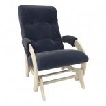 кресло-качалка Мебель Импэкс глайдер МИ Модель 68 Венге, ткань Verona Denim Blue, 13кг
