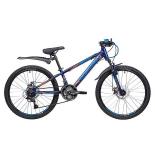 велосипед Novatrack Lumen 24 Disc (2019) синий 134016