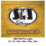 аксессуар к музыкальному оборудованию Cтруны для акустической гитары SIT GB1150