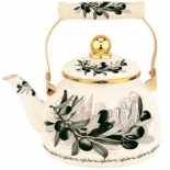 чайник для плиты Zeidan Z-4273-03 4л (эмаль с рисунком)