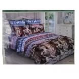 комплект постельного белья BRUNO 2- спальный Аляска, простыня ЕВРО