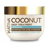 косметика для волос Kativa Coconut  (с органическим кокосовым маслом )