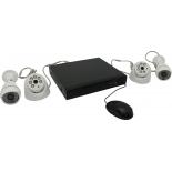 комплект видеонаблюдения Orient XVR+2D+2B (720p)