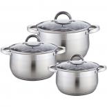 набор посуды для готовки WEBBER BE-617/6, 6пр