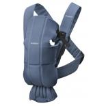 рюкзак-кенгуру BabyBjorn Mini Cotton 74, синий
