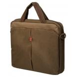 сумка для ноутбука Continent CC010, safari-коричневая