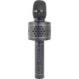 микрофон мультимедийный Атом KM-230, караоке, чёрный