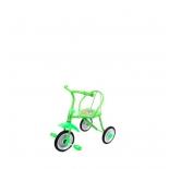 Трехколесный велосипед Moby Kids Друзья, зеленый