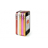 чехол iphone PROMATE for iPhone 4 dBump.i4 Brown-Red