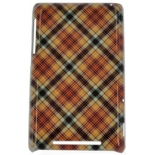 чехол для смартфона спинка E-cell BEIGE PINK PLAID PATTERN HARD BACK CASE COVER