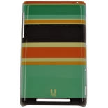 чехол для смартфона спинка E-cell HEAD CASE ORANGE AND BROWN STRIPES DESIGNS BACK CASE