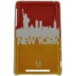 чехол для смартфона спинка E-cell NEW YORK SILHOUETTE SKYLINE DESIGN GLOSSY CASE