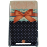 чехол для смартфона спинка E-cell ORANGE LACES AND RIBBONS BACK CASE