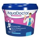 бытовое хим. средство для повышения уровня рН воды AquaDoctor AQ2497 PH Плюс, 5кг (ведро)