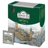 чай Ahmad Tea, Earl Grey, пакетики в конвертах из фольги, 100х2г