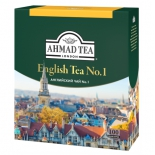 чай Ahmad Tea, English Tea No.1 пакетики с ярлычками в конвертах 100x2г