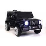 электромобиль RiverToys Mercedes-Benz G63 T999TT, черный