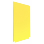 демонстрационная доска Rocada SkinColour 6420R-1016, желтая