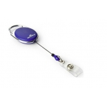 рулетка для бейджа Durable 8324-07 80 см, синяя