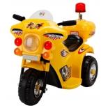 электромобиль RiverToys Moto 998, желтый