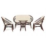 комплект садовой мебели TetChair Turkey кокосовый/коричневый