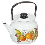 чайник для плиты ЛЗЭП 3,5 л C-2713П2/4Рб Фруктовая фантазия, сталь