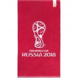 полотенце FIFA Официальная эмблема чемпионата, красное