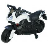 электромобиль Toyland Moto JC 917 мотоцикл, белый
