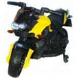 электромобиль Toyland Moto JC 918 мотоцикл, желтый