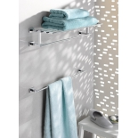 держатель для полотенца Grohe 40509001 Essentials Cube 600 мм, хром (40509001)