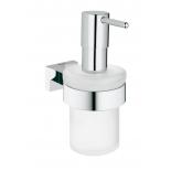дозатор жидкого мыла Grohe 40756001 Essentials Cube, хром (40756001)