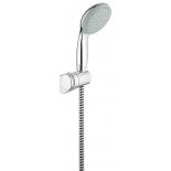 душевой набор Grohe 2760100E Tempesta 100 c 2 режимами и ограничением расхода воды, хром (2760100E)